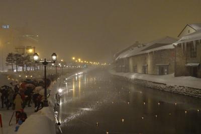 さっぽろ雪まつり~今日は小樽・雪あかりの路