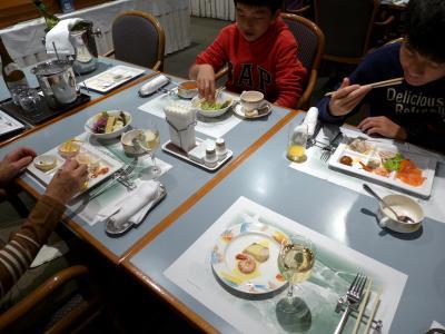 14.2014年最後の旅行はHVC静波海岸2泊 東急ハーヴェストクラブ静波海岸 レストラン リヴァージュのバイキングの夕食