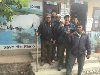 ネパール・チトワン国立公園スペシャル=チトワン・ガイダ・ロッジ編 2015年2月13日