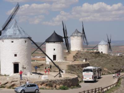 スペイン 11 ラマンチャ地方の風車