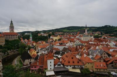 2014年夫婦でプラハ・ブダペスト旅行 4日目チェスキークルムロフ