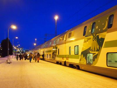 オーロラに迎えられ、そして見送られ・・・フィンランド女子二人旅④サンタクロース