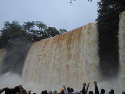 2014ワールドカップ 6/17 イグアス(アルゼンチン側) Iguazu falls in Argentine
