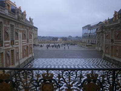 クリスマスのフランス3都市/ベルサイユ宮殿
