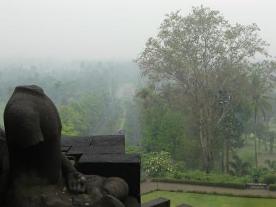 インドネシア、ジャワ島を巡る旅その7-ボロブドゥール遺跡観光