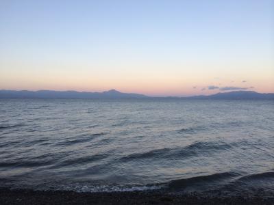 琵琶湖でCamp!