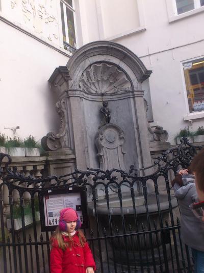 ブリュッセル散策  グランプラスや小便小僧
