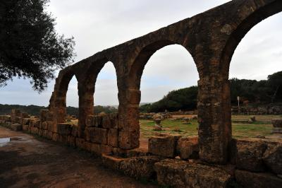 アルジェリアひと巡り 2マウレタニア王家の墓、シェルシェルの街、ティパサ遺跡
