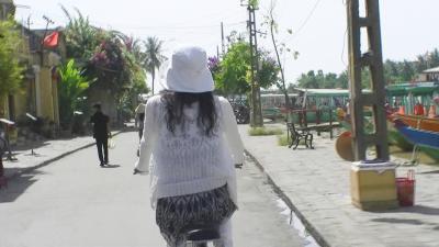世界遺産の街ホイアン (6) クアダイ・ビーチへ、チャリンコでGO!!GO!!