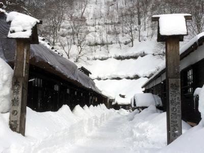 2015 雪の乳頭温泉「秘湯 鶴の湯温泉」に泊まる旅
