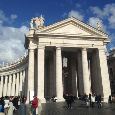 女子一人旅。イタリア4日目:ローマ/バチカン ローマ法王を謁見する!!