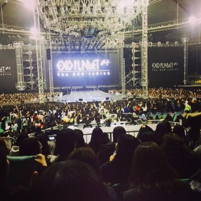 6th KOREA☆初海外LIVE参戦!EXO PLANET#2-The EXO'luXionへgo!①