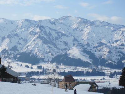 越後湯沢にスキーに行ってきました。