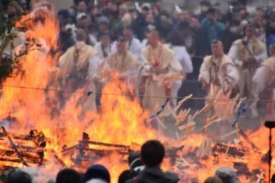 「 高尾山 山伏の荒行 火渡り祭り 」 2015