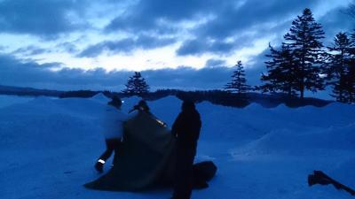 雪中キャンプ 2015