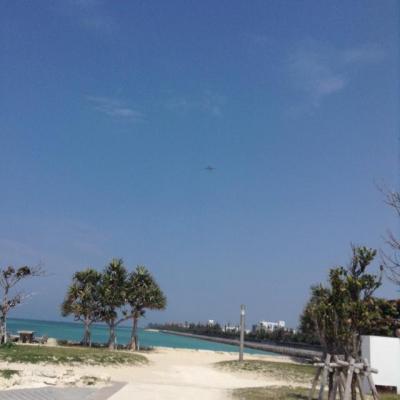 西崎と瀬長島