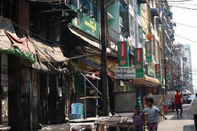 街歩きが楽しかった初ヤンゴン、初ミャンマー④