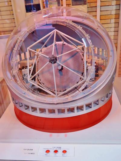 国立天文台4/4 アルマ望遠鏡・すばる望遠鏡模型も ☆最先端技術を展示