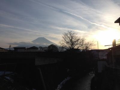 15年冬~憧れの富士山を近くで見よう□1 富士吉田編