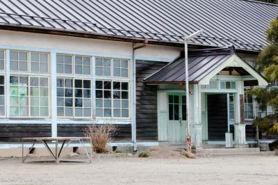 昔懐かし木造校舎