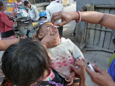 ワクチン投与