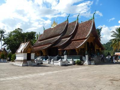 ラオス・タイ2014旅行記 【1】ルアンパパンおよびその周辺1(ルアンパパン1)