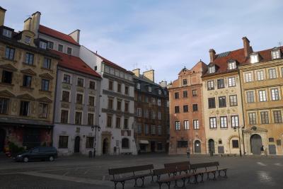 秋のポーランド世界遺産巡り その10 帰国前にワルシャワの街をお散歩