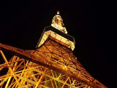 ホテルオークラで飲茶ランチとお散歩東京タワー