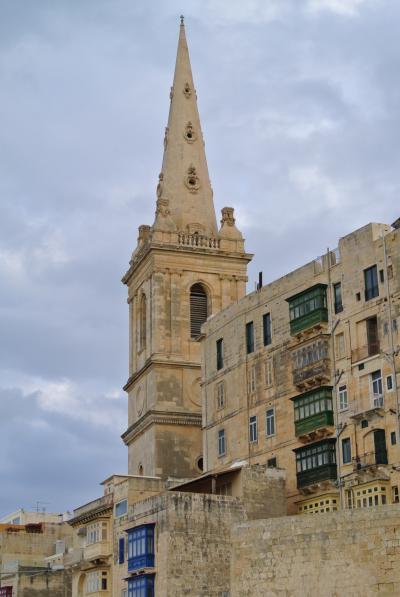 母と娘のお気楽女子旅 『地中海のへそ マルタ島』バレッタ