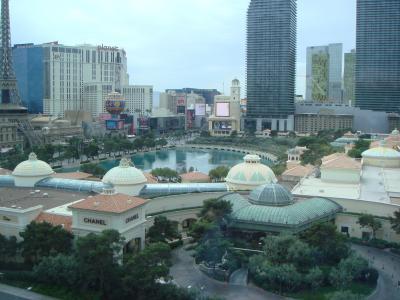 3泊6日でラスベガスに行きました ホテルはアリアとシーザーパレス