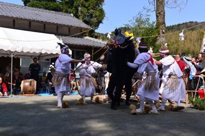 諸田山神社御田植祭