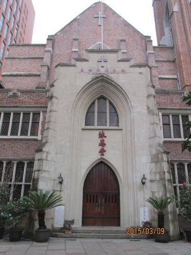 上海英国租界の西蔵中路・歴史建築