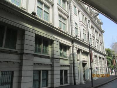 上海英国租界の延安東路・歴史建築
