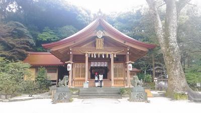 福岡・大宰府の竈戸神社(2015年2月)