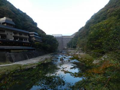 湯原温泉にちょこっと立ち寄ってみました◆2014年10月/山歩き仲間と紅葉の大山へ≪おまけ編≫