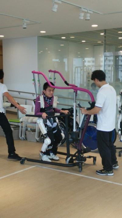 ロボットスーツHAL サイバーダイン 湘南ロボケアセンター 2015年2月