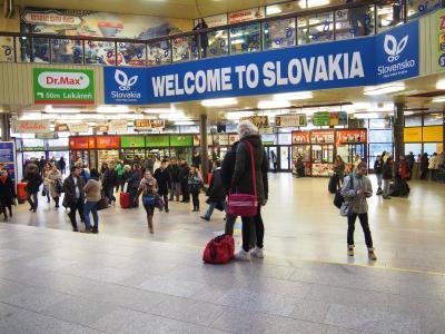スロバキア ブラチスラバ駅⇒ハンガリーブダペスト駅まで電車の旅