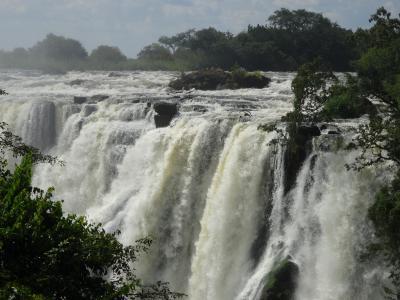 ヴィクトリアの滝 (ザンビア側)