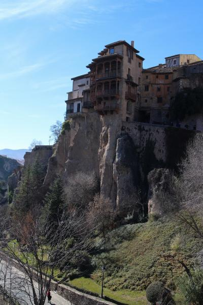 スペイン南部の世界遺産を巡る旅(10)【完】 奇岩に囲まれた断崖絶壁城塞都市クエンカ