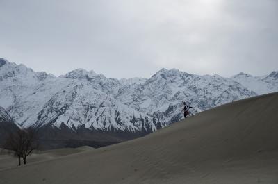 2015春パキスタン~スカルドのKatpanah砂漠・雪山との素晴らしいコラボ