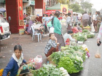 ヤンゴンの朝。ヤンゴン バガン マンダレー インレー湖への旅の幕開け。