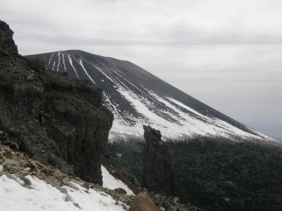 早春の浅間連峰黒斑山に登る・・・前篇