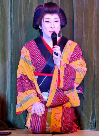 温根湯3 温根湯ホテル 人見劇団の公演で ☆大江戸人情芝居を楽しむ