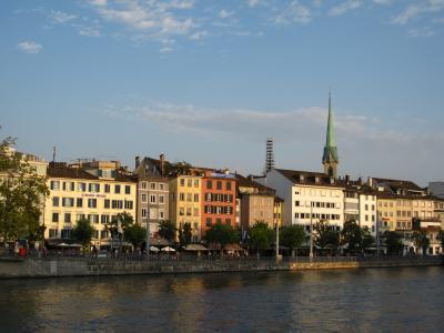 夏のスイス。街歩きとちょっと山登り!(1日目:成田からチューリッヒへ)