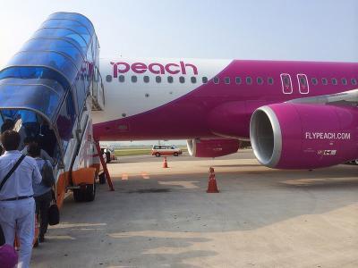 ピーチ利用24時間滞在 釜山ひとり旅(7) 金海国際空港から、MM016便で帰国