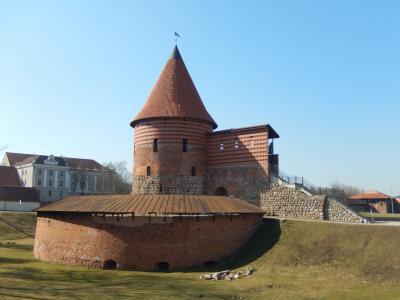リトアニア 「行った所・見た所」 カウナス(杉原記念館と旧市街地散策)