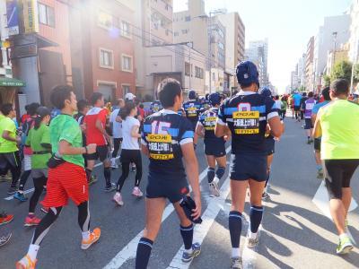 2014 大阪遠征のついでに大阪マラソン【その7】スタートから大阪難波を目指して
