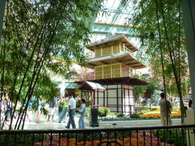 べラージオ コンサバトリー植物園(ベラッジオガーデン)初の日本庭園