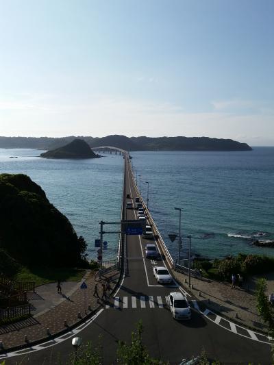 2014夏旅行 1日目/萩、角島、関門海峡