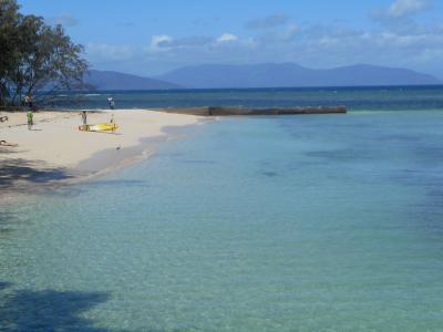 オーストラリア8日間の旅(その2-1) ケアンズ・グリーン島